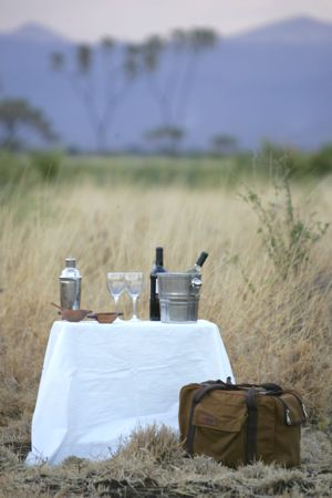 Sundowners in Meru National Park